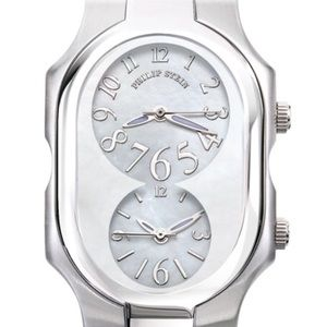 💯Authentic Philip Stein Mother of Pearl Timepiece